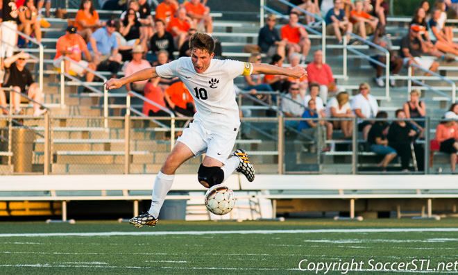 2014-09-02 Edwardsville shuts out Belleville East in SWC soccer action