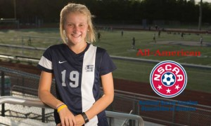 Caitlyn Eddy Named NSCAA All-American