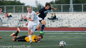 Missouri Large School Soccer Playoffs, Day Two