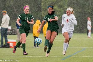 IWA Red Knights Hold Off St. Joe Angels In Wind and Rain