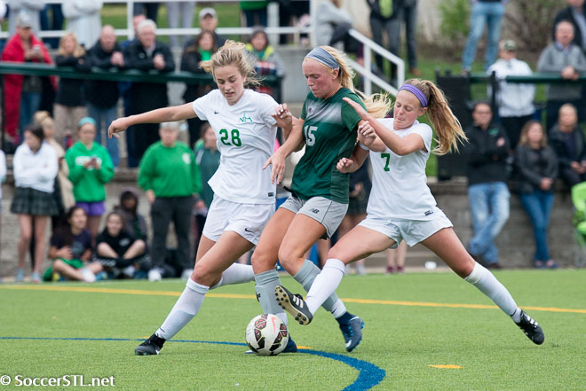 Nerinx Hall Markers Hold Serve, Beat St. Joseph in PKs