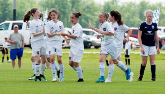 Sporting STL Academy Stevens Captures Missouri Rush Mother's Day Title for 2006 Girls